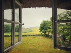 -- Fenster mit Ausblick